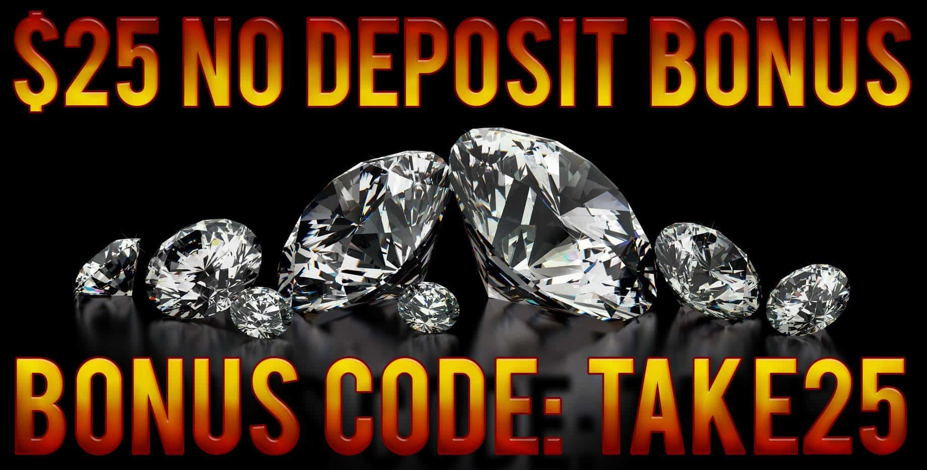 bonus code for black diamond casino