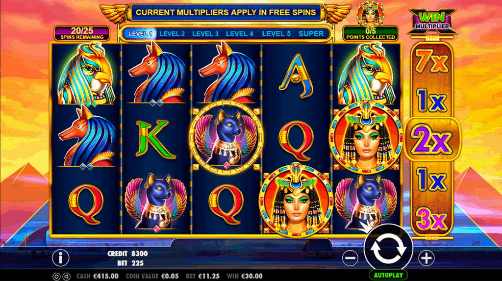 Queen Of Gold slot 60 free spins