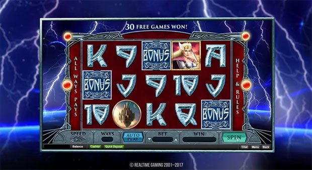 Slotastic Casino 50 Free spins on the new Asgard slot
